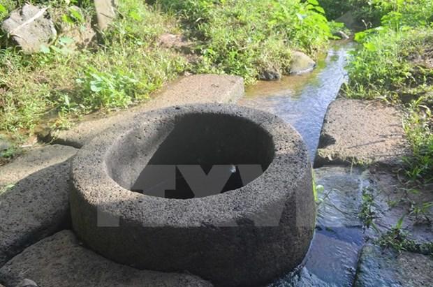 Descubren en Vietnam un pozo antiguo de 800 anos hinh anh 1