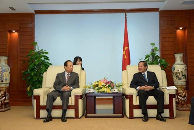 Samsung planea producir 200 millones de celulares inteligentes en Vietnam hinh anh 1