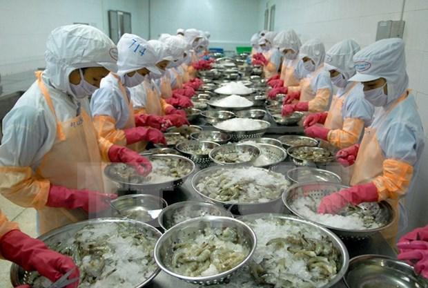 En alza exportacion de camarones vietnamitas a Estados Unidos hinh anh 1