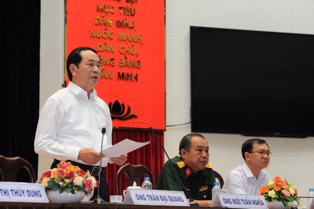 Candidatos sostienen encuentros preelectorales con votantes en Vietnam hinh anh 1
