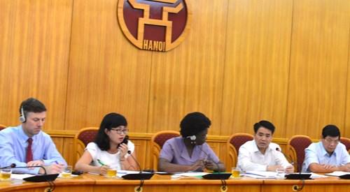 Hanoi finalizara este ano proyecto de modernizacion de transporte urbano hinh anh 1