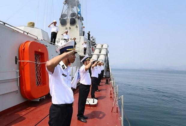 Vietnam se incorpora a ejercicio antiterrorista de ASEAN en Singapur hinh anh 1