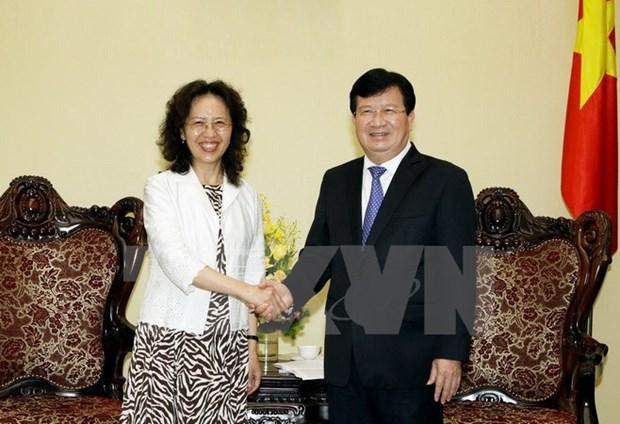 Impulsan cooperacion entre localidades vietnamitas y provincia china hinh anh 1