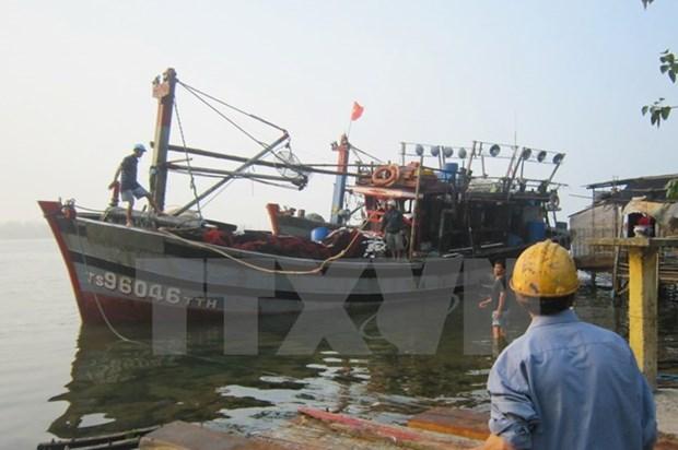 Repatrian pescadores vietnamitas detenidos en Indonesia hinh anh 1