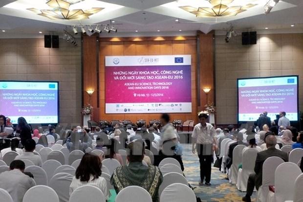 En Vietnam dias de ciencia, tecnologia e innovacion de ASEAN – UE hinh anh 1