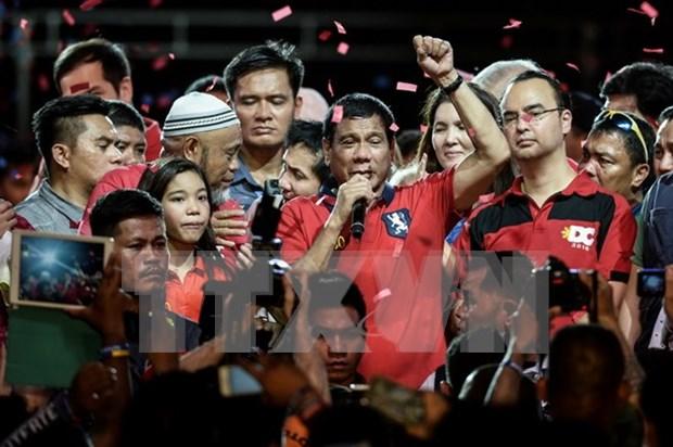 Dispuestos EE.UU y China colaborar con nuevo gobierno filipino hinh anh 1