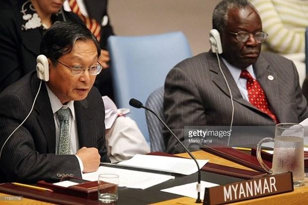 Myanmar nombra ministro de la Oficina Asesora Estatal hinh anh 1