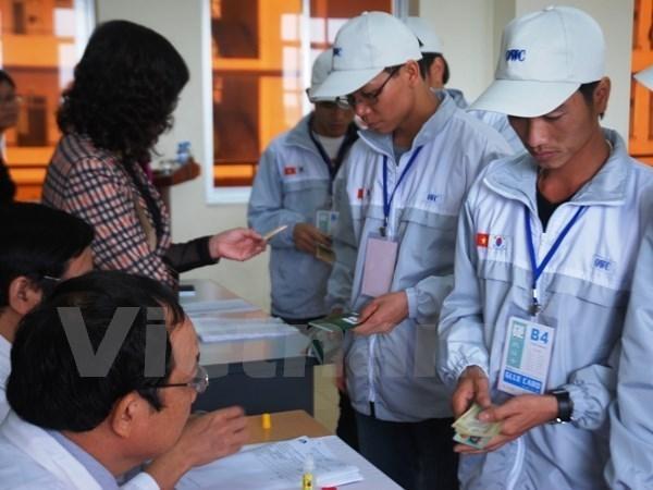 33 mil 600 vietnamitas partieron al extranjero a trabajar en el primer cuatrimestre hinh anh 1