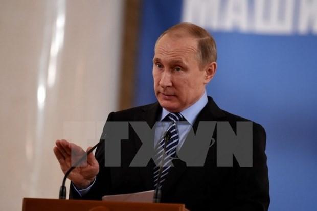 Rusia quiere establecer asociacion estrategica con ASEAN hinh anh 1