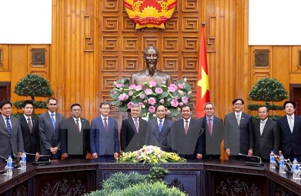 Primer ministro vietnamita exhorta esfuerzos por una ASEAN de unidad hinh anh 1