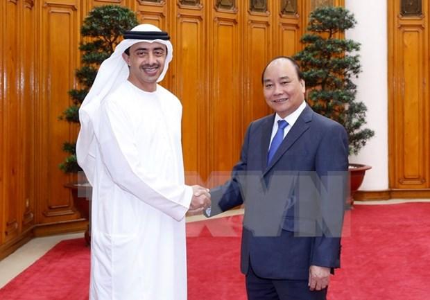 Enlaces con Vietnam: puente para ampliar nexos con ASEAN de UAE hinh anh 1