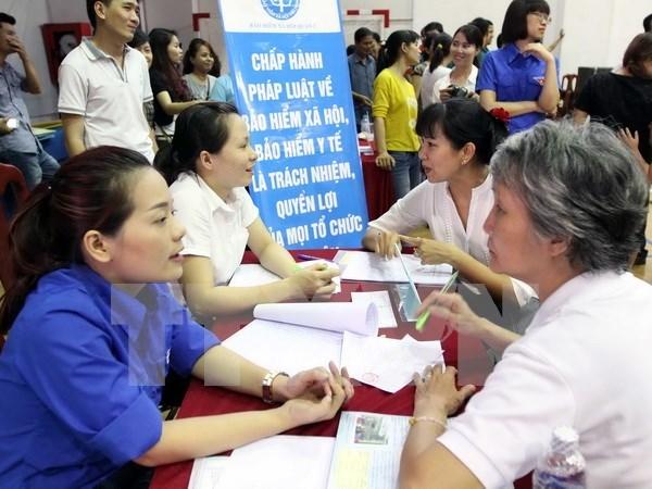 Provincia vietnamita proyecta ampliar cobertura de seguro medico hinh anh 1