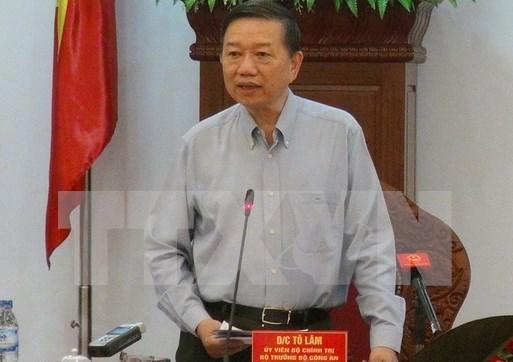 Ministro vietnamita de Seguridad Publica se reune con Hun Sen hinh anh 1