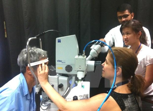 Orbis realiza operacion oftalmologica gratuita en ciudad vietnamita hinh anh 1