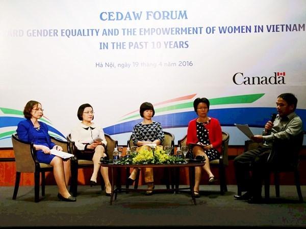 Estimulan en Vietnam empoderamiento de las mujeres hinh anh 1