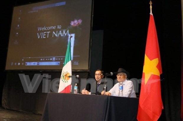 Organizan en Mexico charla sobre Patrimonios Cultuales de Vietnam hinh anh 1
