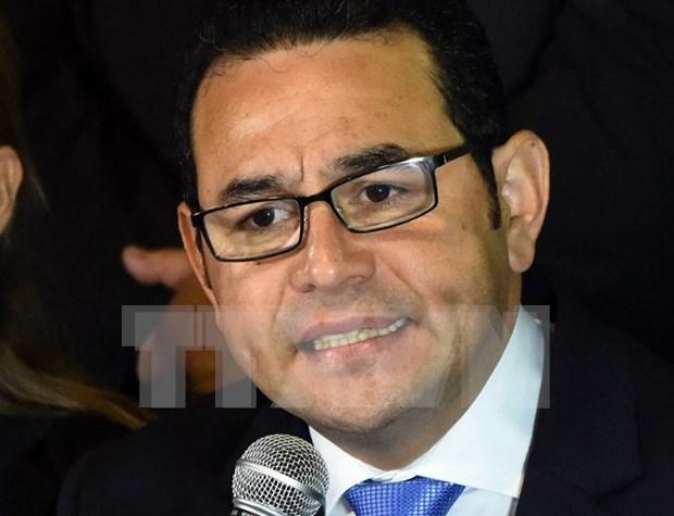Guatemala considera impulsar relaciones con Vietnam hinh anh 1