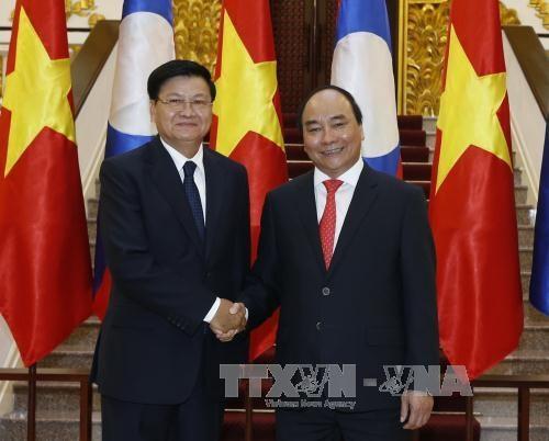 Vietnam y Laos determinados a preservar y desarrollar sus relaciones hinh anh 1