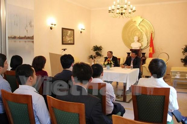 Efectuan coloquio sobre presidente Ho Chi Minh en Alemania hinh anh 1
