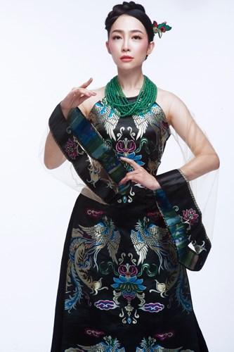 Presentan vestido tradicional de Vietnam en Estados Unidos hinh anh 2