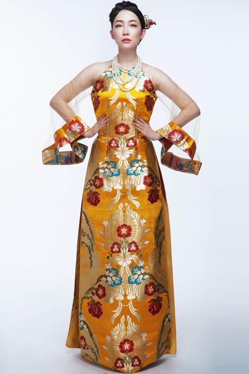 Presentan vestido tradicional de Vietnam en Estados Unidos hinh anh 1