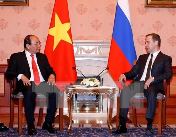 Vietnam y Rusia pactan intensificar asociacion estrategica integral hinh anh 1