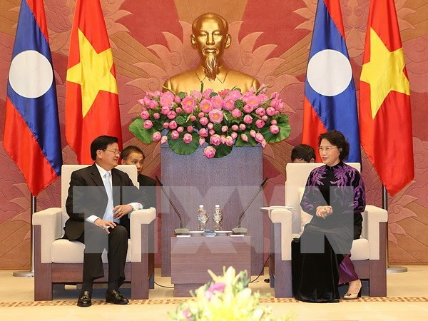 Parlamento vietnamita dispuesto a cultivar nexos entre el pais y Laos hinh anh 1
