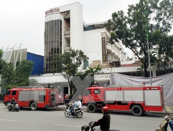 Dona Sudcorea a Vietnam camiones de bomberos hinh anh 1