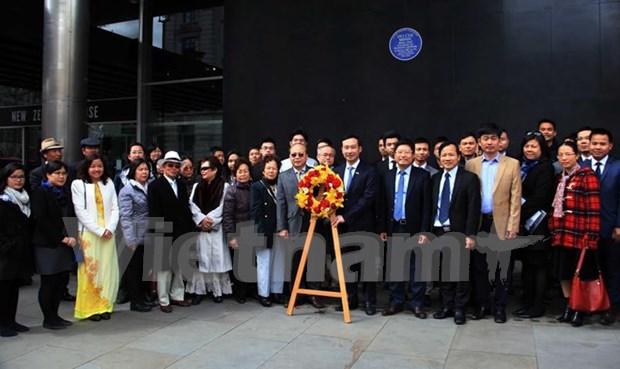 Vietnamitas en Reino Unido celebran aniversario de natalicio de Ho Chi Minh hinh anh 1