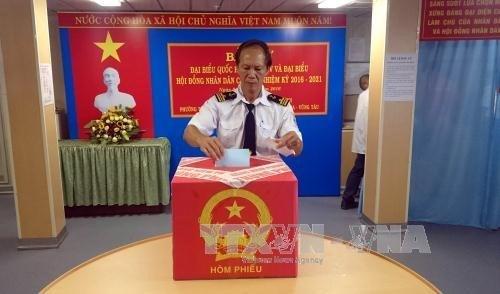 Listo Vietnam para las proximas elecciones hinh anh 1