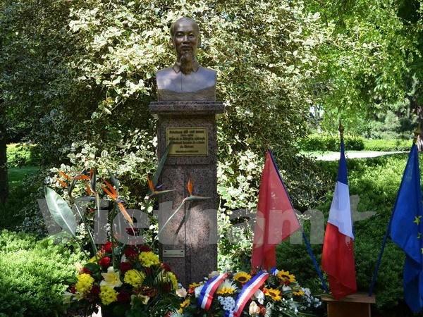Recuerdan a Presidente Ho Chi Minh en Francia hinh anh 1