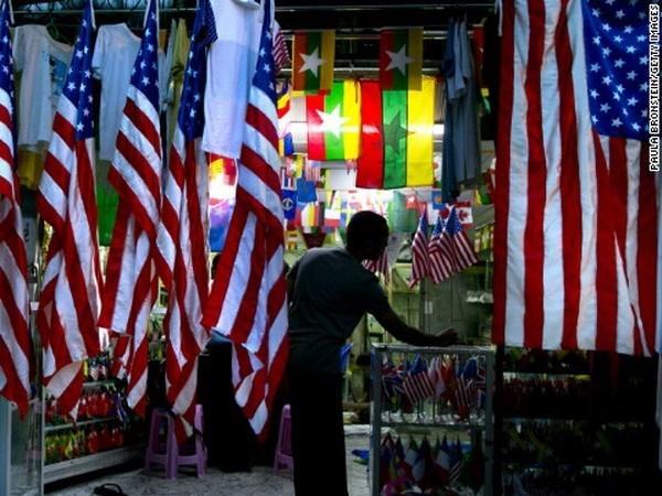 Estados Unidos levanta restricciones financieras contra Myanmar hinh anh 1