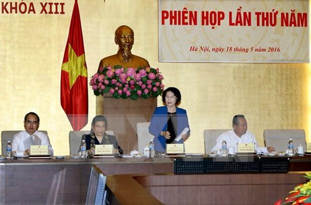 Celebraran rueda de prensa sobre preparativos para proximas elecciones en Vietnam hinh anh 1