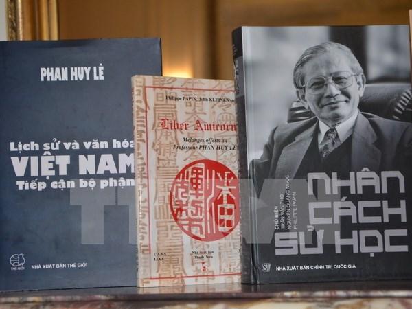 Institucion francesa honra a historiador vietnamita Phan Huy Le hinh anh 1