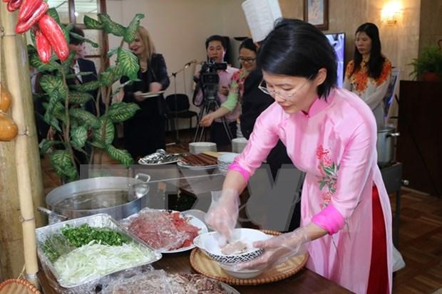 En Indonesia Semana gastronomica dedicada a la comida vietnamita hinh anh 1