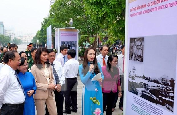 Conmemoran los 126 anos del natalicio del presidente Ho Chi Minh hinh anh 1