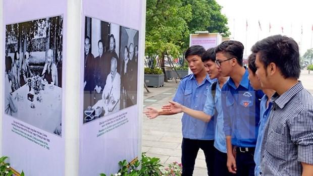 Conmemoran los 126 anos del natalicio del presidente Ho Chi Minh hinh anh 2