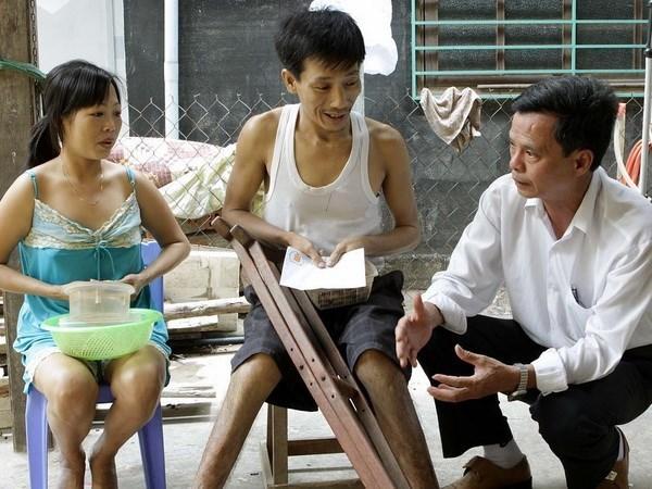 Politica vietnamita de apoyo a afectados de dioxina muestra resultados tangibles hinh anh 1
