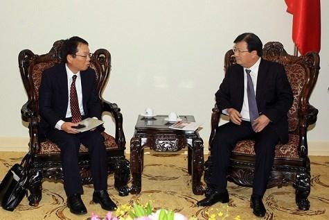 Vietnam considera a Japon como socio comercial principal hinh anh 1