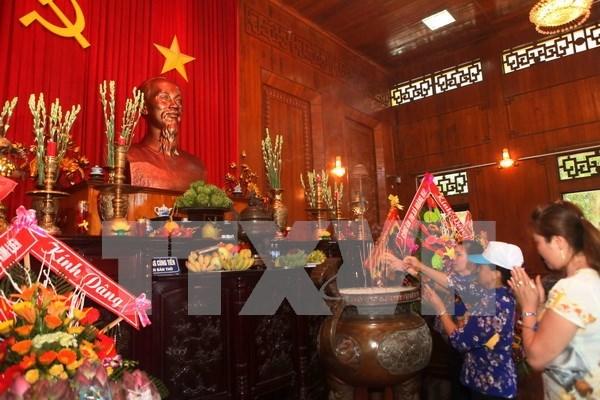 Recuerdan Presidente Ho Chi Minh en su tierra natal hinh anh 1