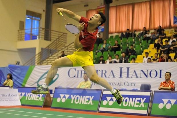 Badmintonistas vietnamitas y extranjeros se daran cita en torneo en Hanoi hinh anh 1