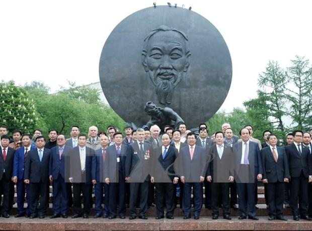 Premier vietnamita concluye visita oficial a Rusia hinh anh 1