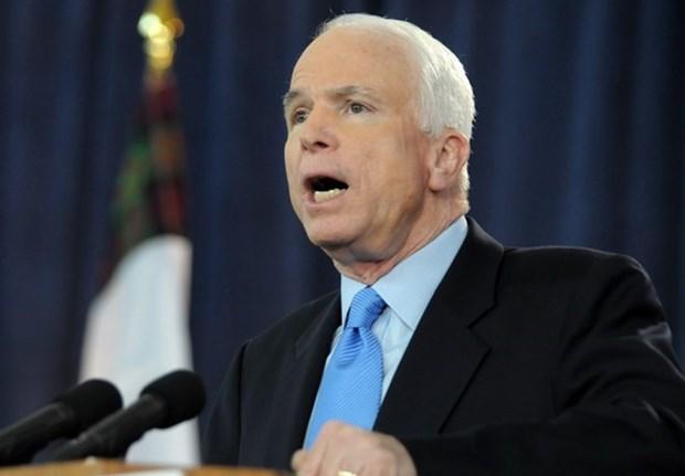 John McCain exalta vinculos EE.UU.- Vietnam hinh anh 1