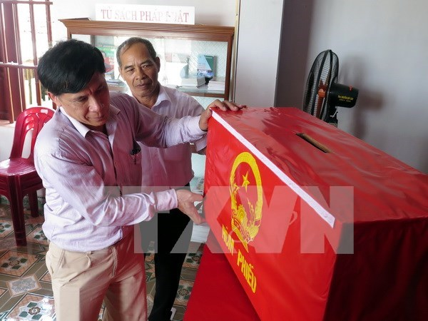 Vietnam completa preparativos para proximas elecciones legislativas hinh anh 1