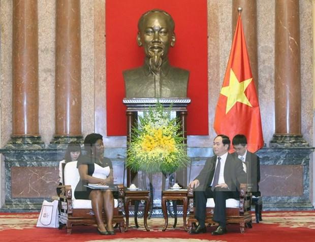 Presidente de Vietnam insta a Banco Mundial a cumplir funcion de coordinacion hinh anh 1
