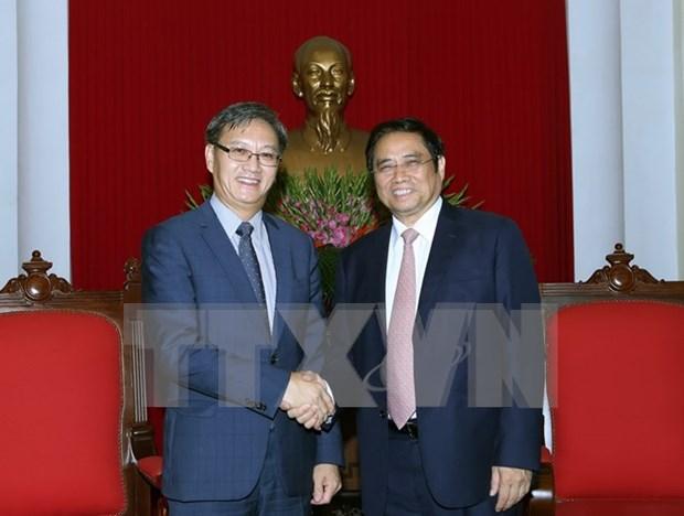 Embajador laosiano trabajara por desarrollar nexos Laos-Vietnam a nivel superior hinh anh 1