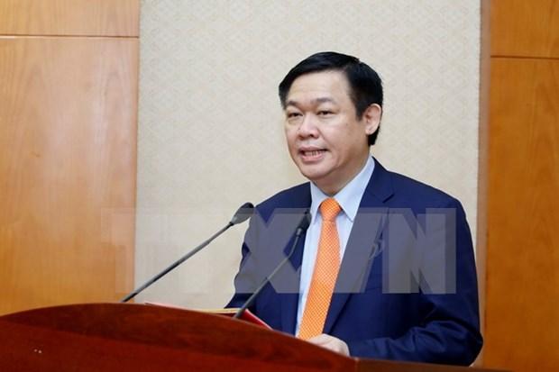 Vicepremier vietnamita inspecciona situacion de sequia en Hau Giang hinh anh 1