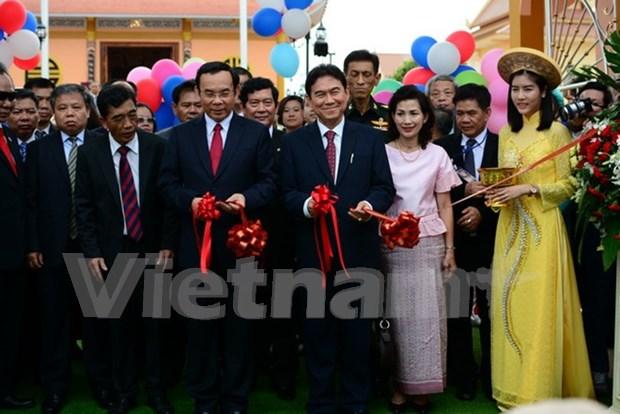 Inauguran en Tailandia mayor zona conmemorativa de Ho Chi Minh en el exterior hinh anh 1