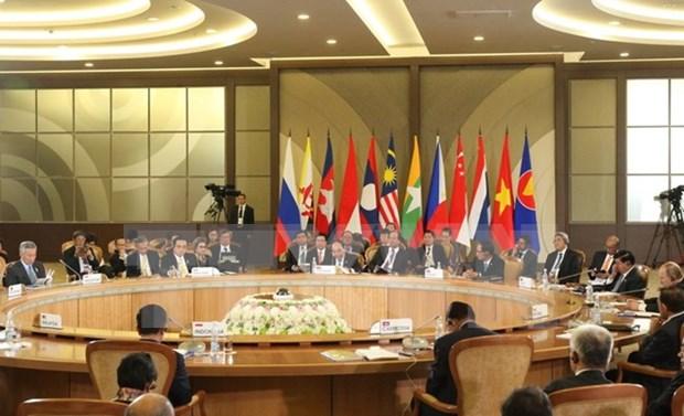 Premier vietnamita asiste a Cumbre conmemorativa ASEAN – Rusia hinh anh 1