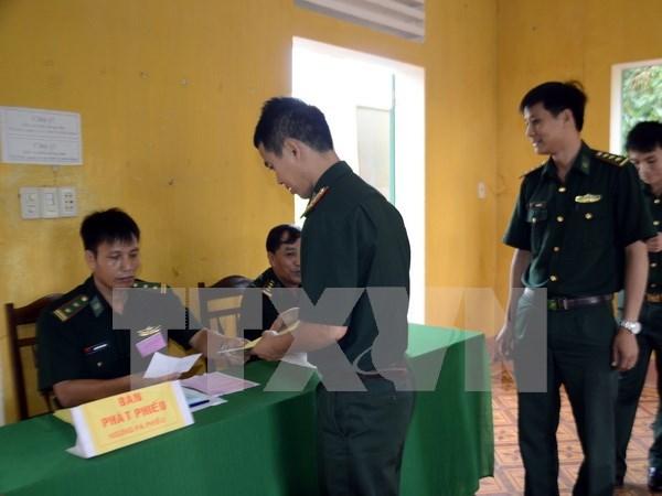 Elecciones anticipadas en zonas fronterizas e islenas hinh anh 1
